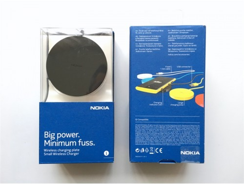 Nokia DT-601 Wireless Charger за Lumia 640 Dual